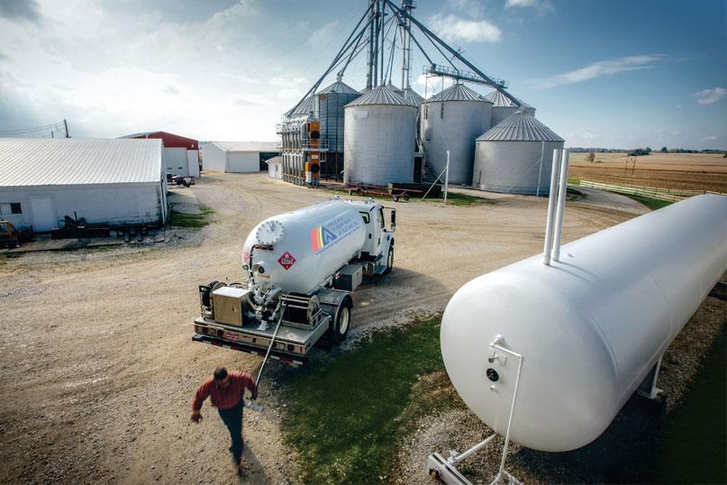 propane on the farm