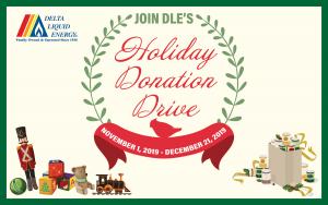 Delta Liquid Energy holiday donation drive